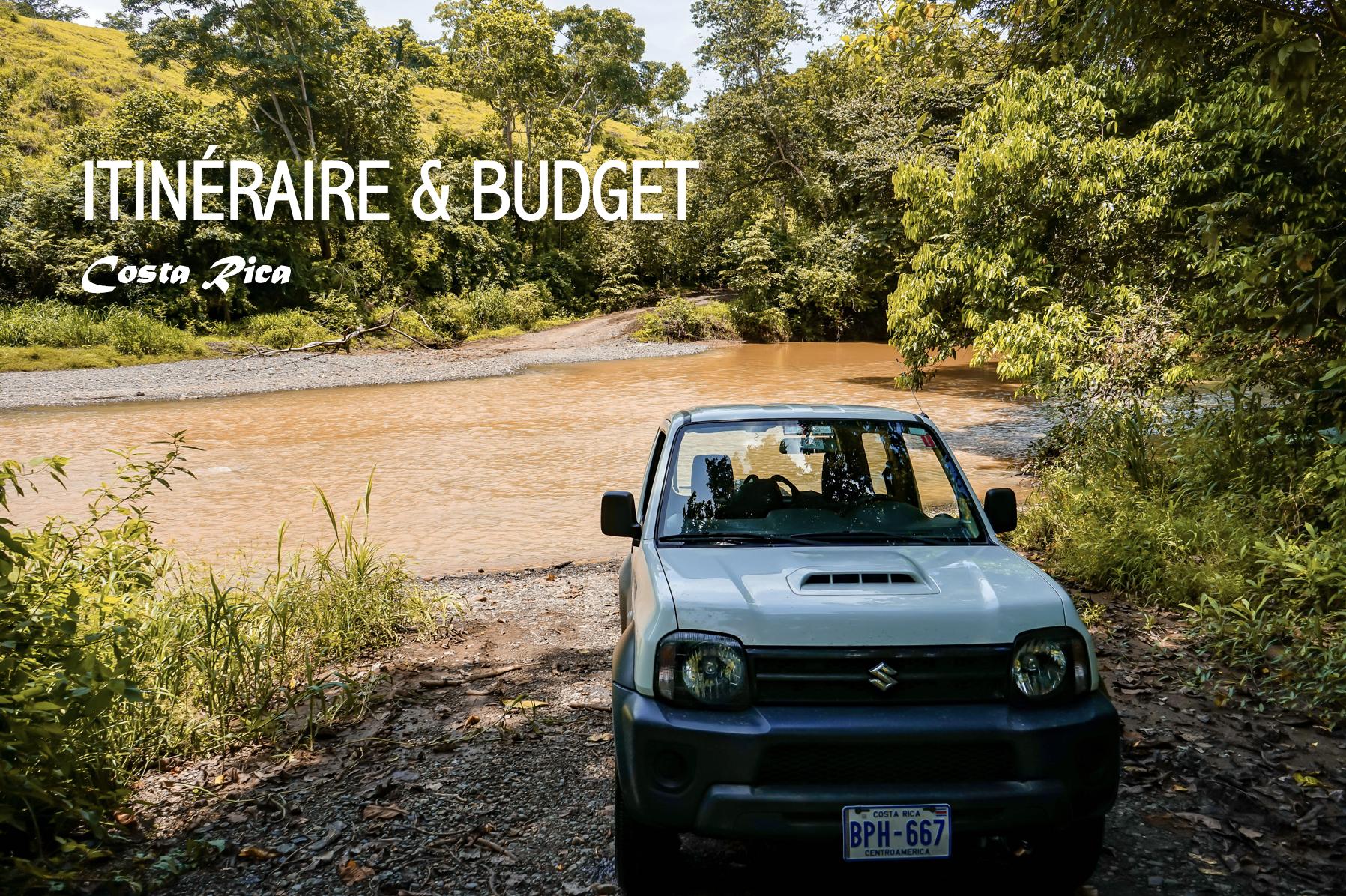 itinéraire & budget
